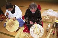 Ecchu Fukuoka-Machi Sedge Hat Making Techniques